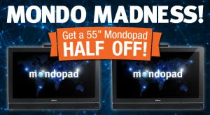 Mondopad Half Price Sale